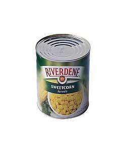 riverdene sweet corn large tin