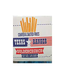 texas ranger coated salted fries
