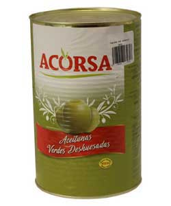 acorsa black green olives